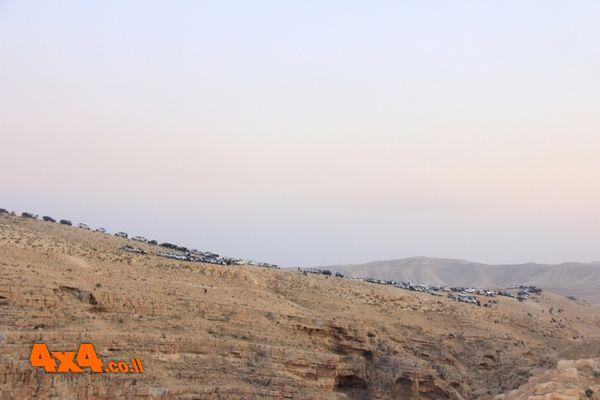 מאות הגיפים בגדה המזרחית של נחל קדרון