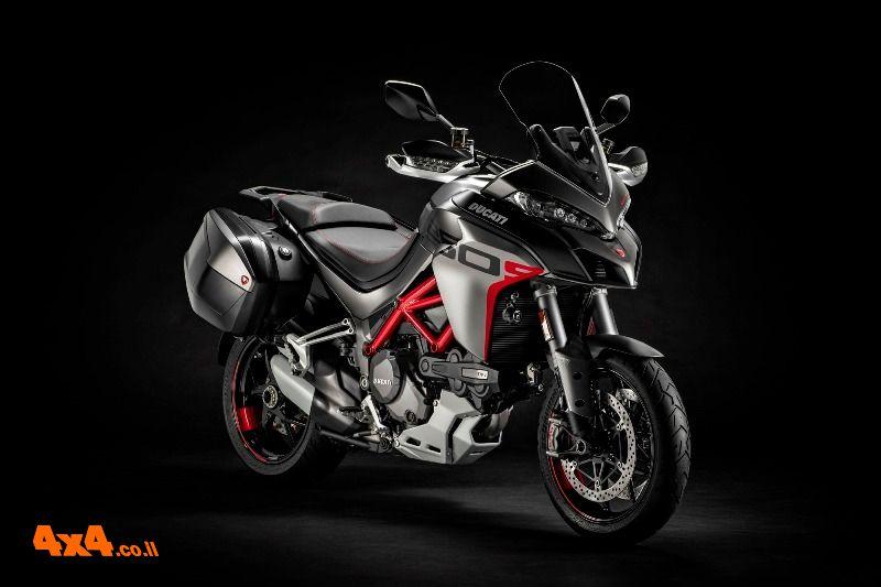 אופנוע דוקאטי מולטיסטרדה 1260 S 'גרנד-טור' החדש בישראל