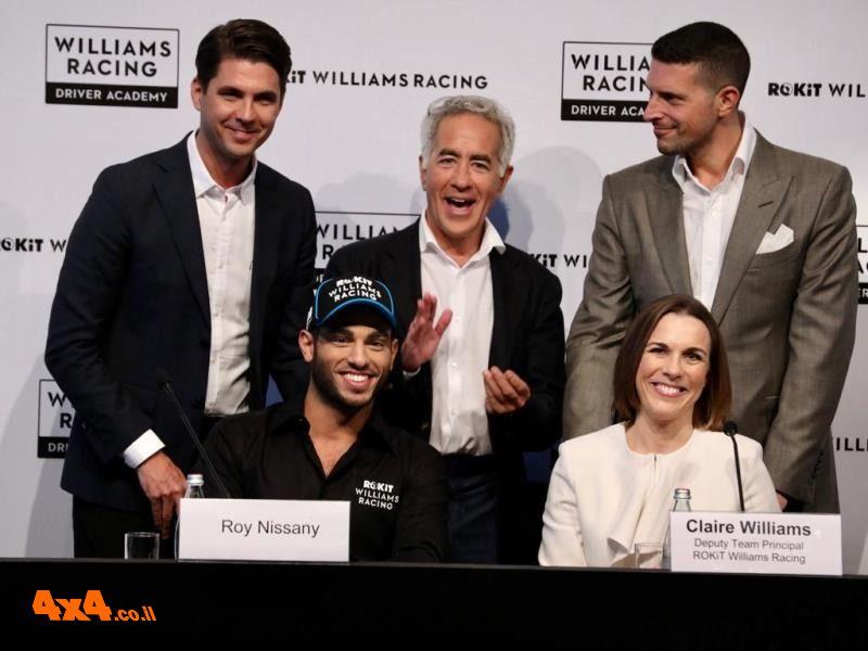 היסטוריה: נהג המרוץ הישראלי רוי ניסני חתם בפורמולה 1