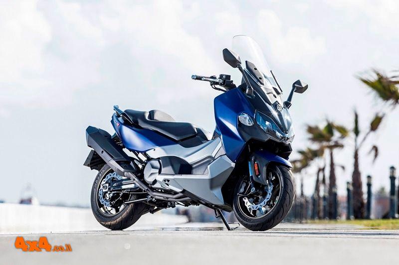קטנוע סאן יאנג TL 500 - עכשיו בישראל