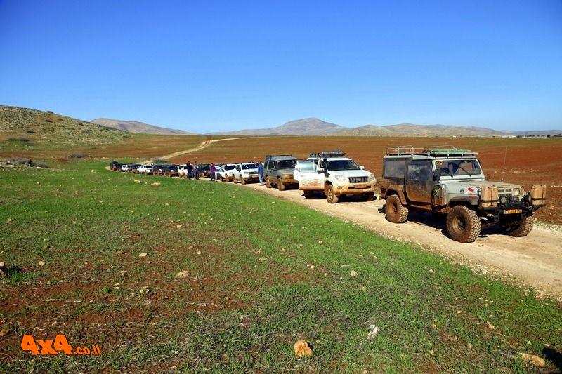 יומן מסע שמורות בצפון בקעת הירדן