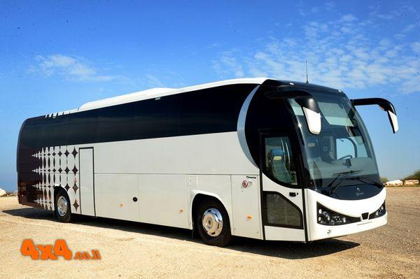 אוטובוסים של IRAMOS MOTA הפורטוגלית הגיעו לישראל