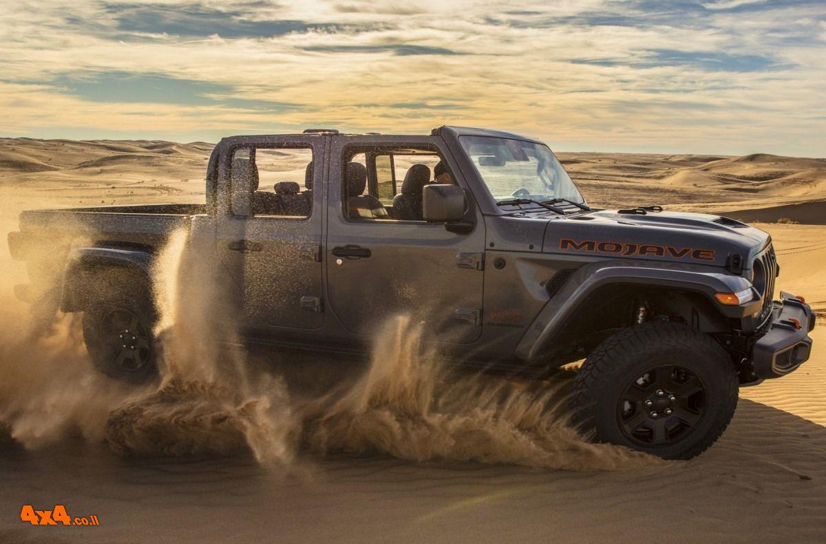 המדבר מתעורר - ג'יפ גלדיאטור מוהאבי