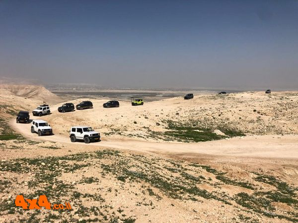 סיכום טיול מועדון סוזוקי במדבר יהודה - מנזר מרסבא