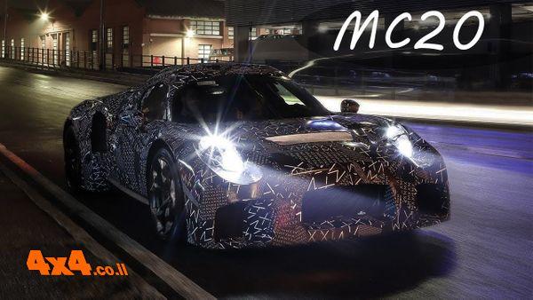 מזראטי Maserati MC20