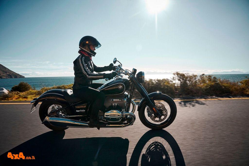 ב.מ.וו. חושפת אופנוע קרוזר חדש BMW R 18