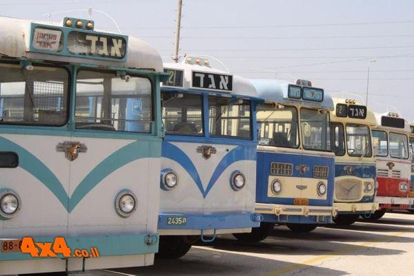 צי האוטובוסים החדיש לרשות לקוחות האתר: