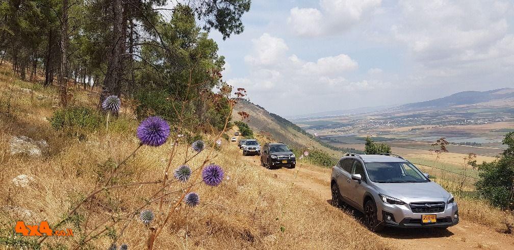 סובארו DRIVE מטיילים בגלבוע - פוסט קורונה