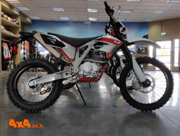 דגמי אופנועי AJP חדשים מגיעים לישראל