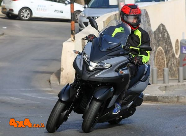 קטנוע ימאהה Tricity 300 תלת גלגלי הושק בישראל