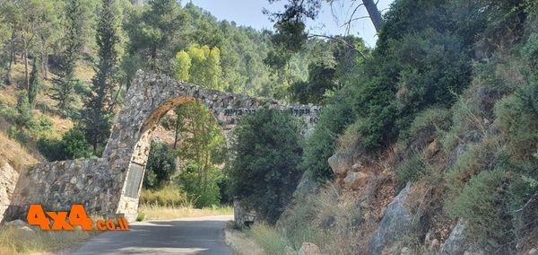 הכניסה המערבים ליער מכיוון מושב אשתאול