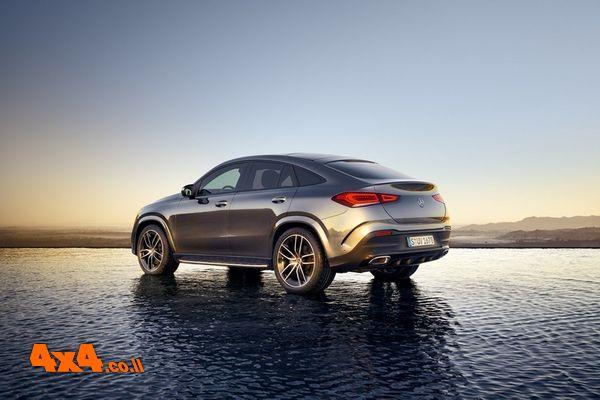 GLE Coupe חדש של מרצדס הגיע לישראל