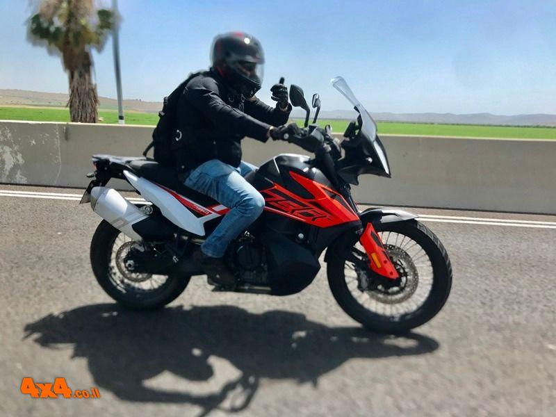 אופנועים / טרקטורונים - רכיבות מבחן