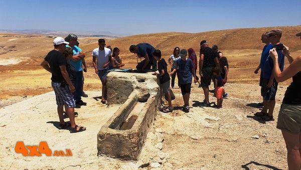 בור מים מרכזי על ציר הר מונטר - ירושלים