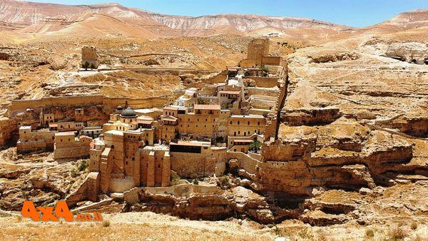 מנזר המרסבא בגדות נחל קדרון