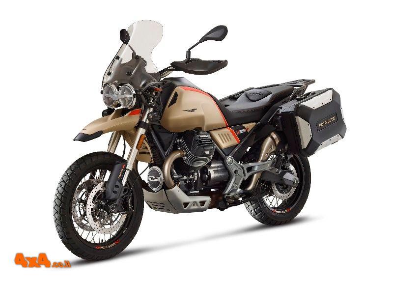 גרסה חדשה של אופנוע האדוונצ'ר של מוטו-גוצי