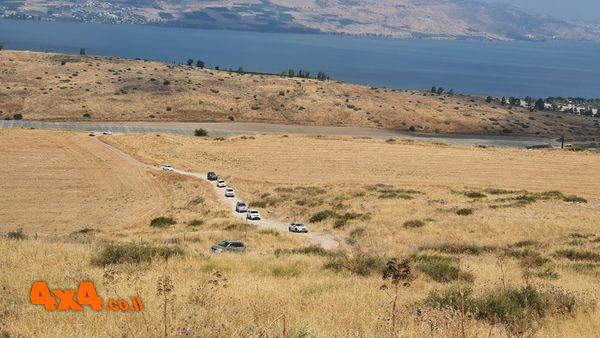 מסע בין מעיינות בדרום רמת הגולן - יולי 2020