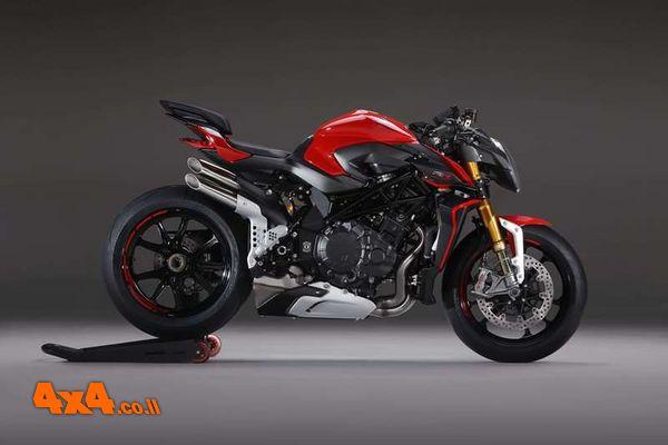 דגמי אופנועים חדשים של MV Agusta בישראל