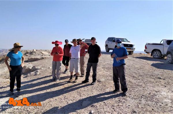 על פסגת הר מונטר - הסברים על הסובב