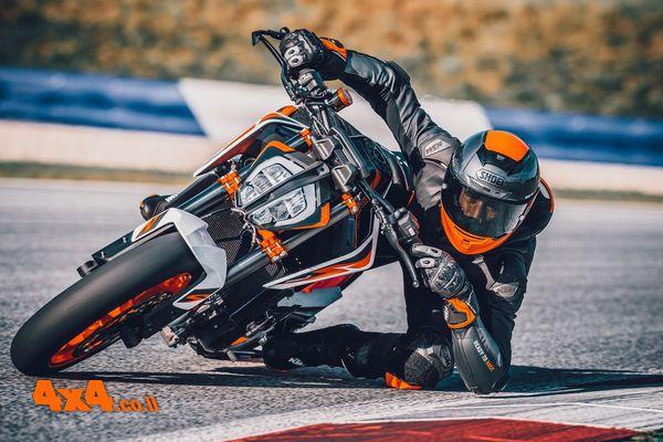 ק.ט.מ. דיוק KTM 890 DUKE R - אפנוע חדש בישראל