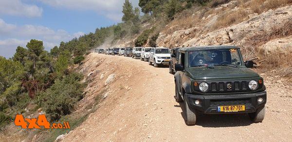 טיול מועדון סוזוקי להרי ירושלים, הדרכות נהיגה ועוד