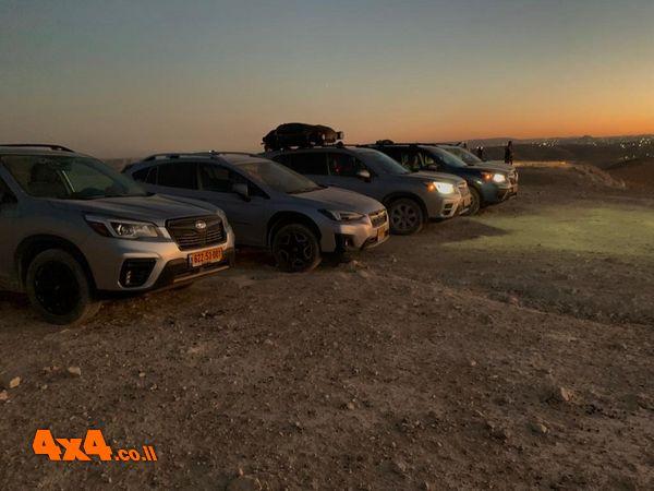 יומן מסע סובארו - חוצה ישראל, אוגוסט 2020