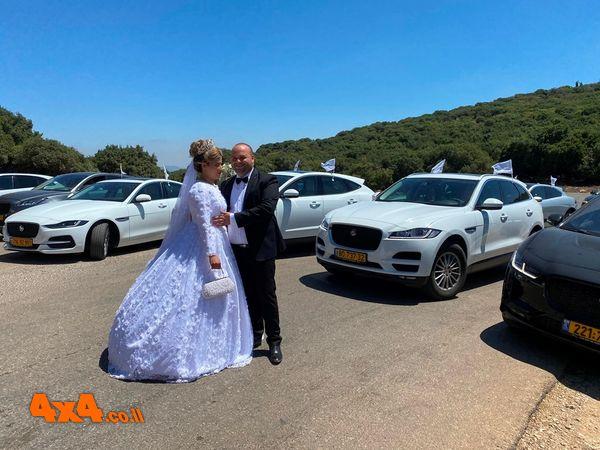 יגואר משמחים כלה וחתן