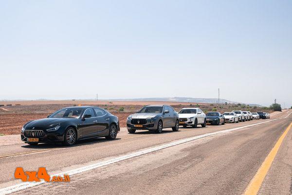 מועדון מזראטי בטיול כביש לרמת הגולן