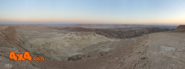 הנוף ממצוק הר כיפה