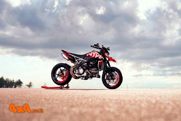 אופנוע Ducati חדש בישראל: HYPERMOTARD REV 950
