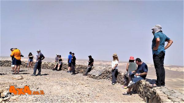 המצפור ברומו של הר צבאים