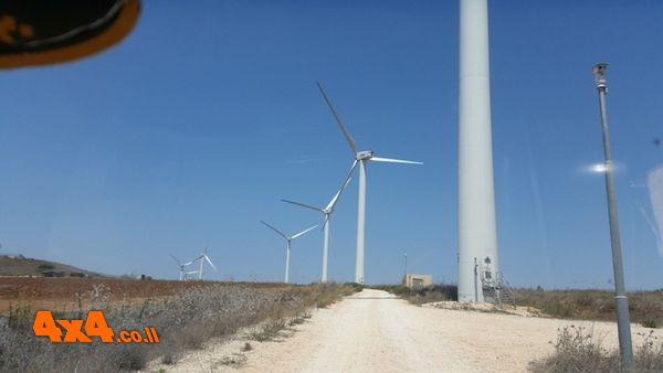 חוות הטורבינות ליצור חשמל
