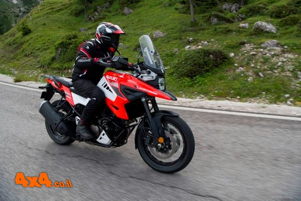 אופנועי סוזוקי ויסטרום V-Strom 1050 בדגמים חדשים