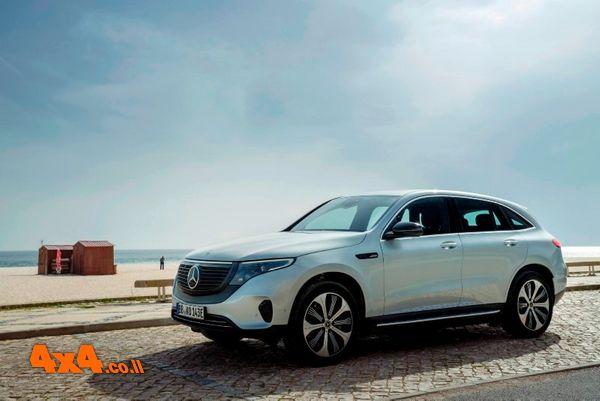 EQC הרכב החשמלי של מרצדס מגיע לישראל