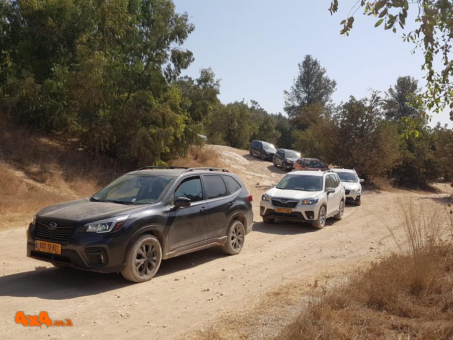 שטח 4X4 - יומני מסע בארץ - הדרכות נהיגה