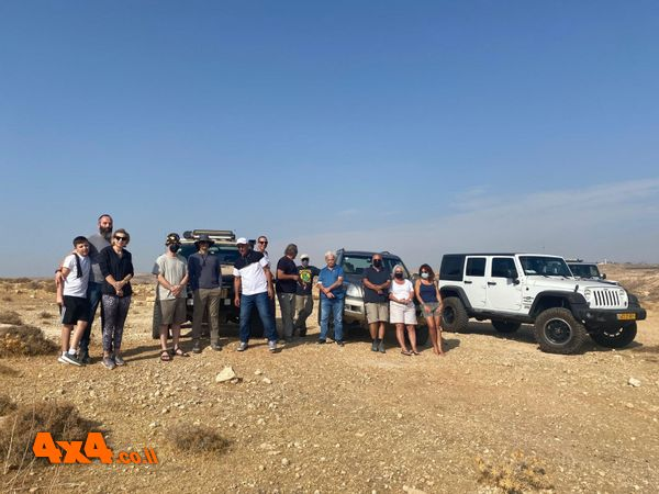 צילום קבוצתי לפני היציאה למשימה