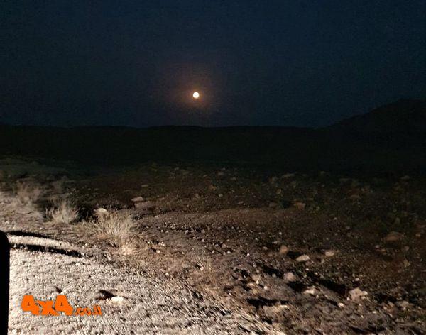 לאור הירח בדרך לבקעת הורקנייה