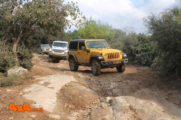 טיול מועדון Jeep לרמות מנשה - 20/11/2020