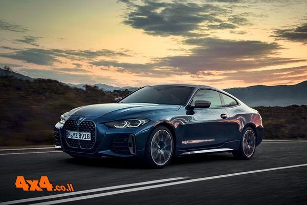 BMW סדרה 4 קופה החדשה מגיעה לישראל