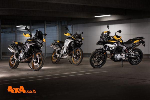 אופנועי GS BMW חדשים לשנת 2021 בישראל