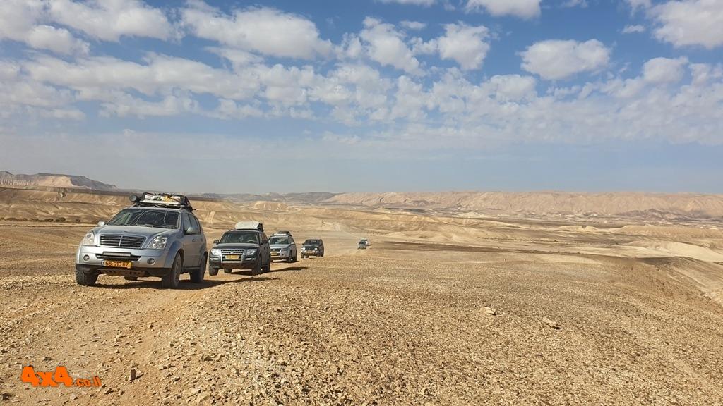שטח 4X4 - יומני מסע בארץ - טיול ארוכים בארץ