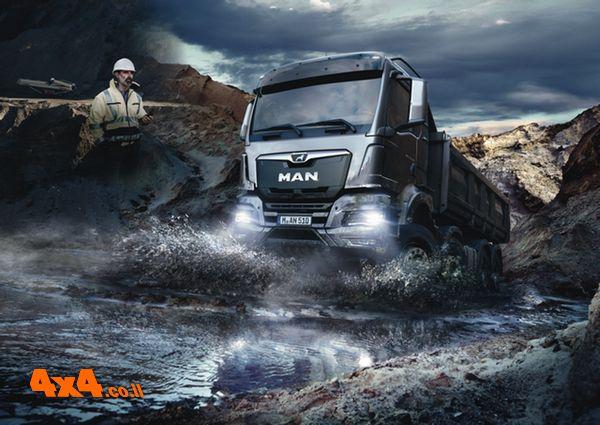 מאן משיקה סדרת משאיות חדשה Super-MAN