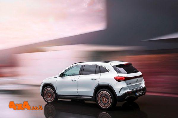 סדרה חדשה לתת‑מותג החשמל של מרצדס Mercedes-EQ