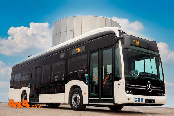 האוטובוס העירוני החשמלי של מרצדס הגיע לישראל