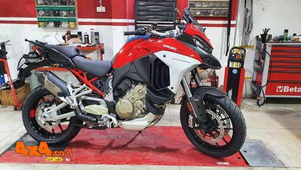 אופנועי דוקאטי חדשים הגיעו לישראל
