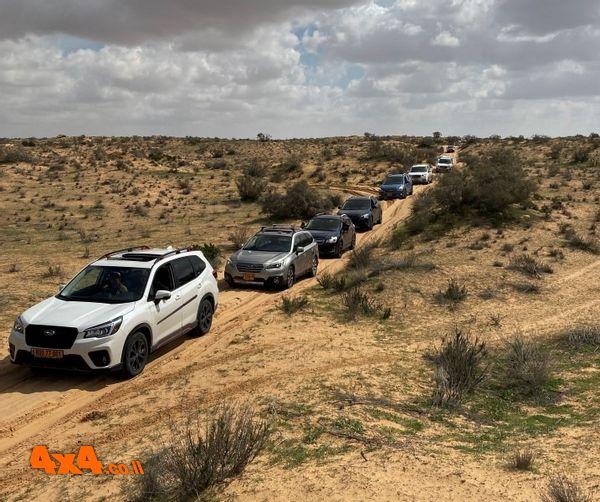 טיול סובארו דרייב בשבת, הדרכות נהיגה, מסע חוצה ישראל בפסח ועוד