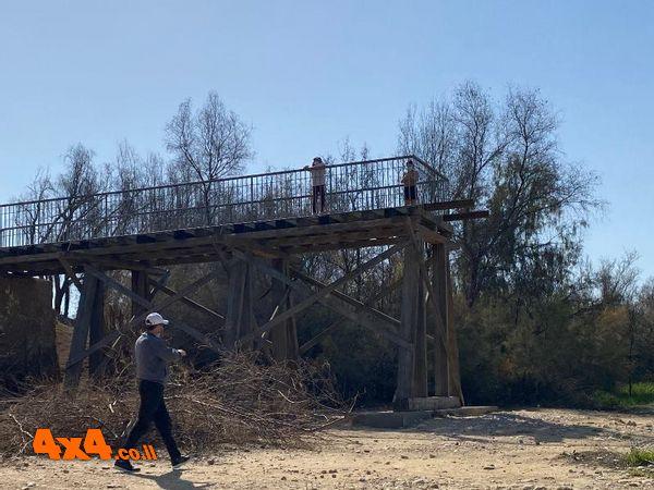 שרידי גשר הרכבת רפיח - באר שבע