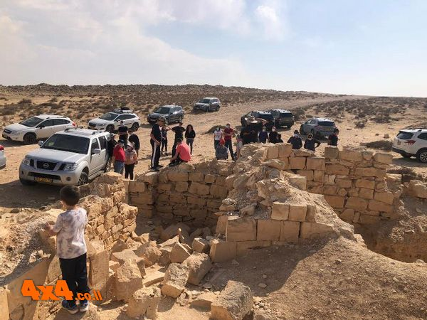 שרידי העיר רחובות בנגב
