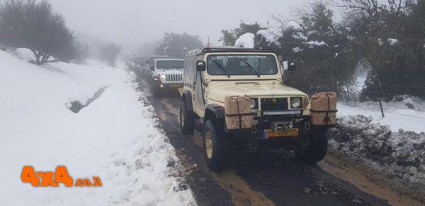 טיול שלג רמת הגולן 19.2.2021