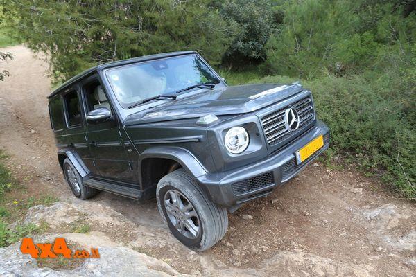 מרצדס Mercedes G בהדרכה מיוחדת בשטח